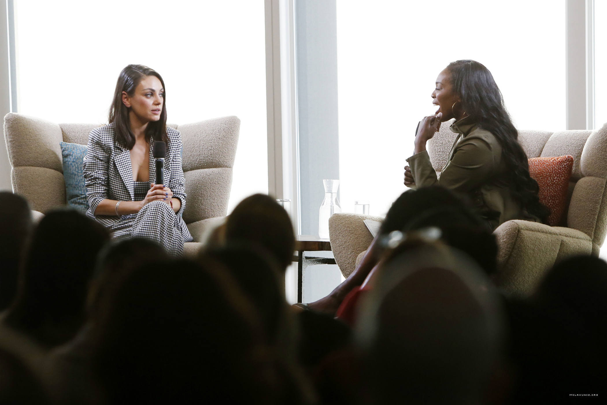 Photos: Mila Kunis Speaks At Salesforce For UN Human