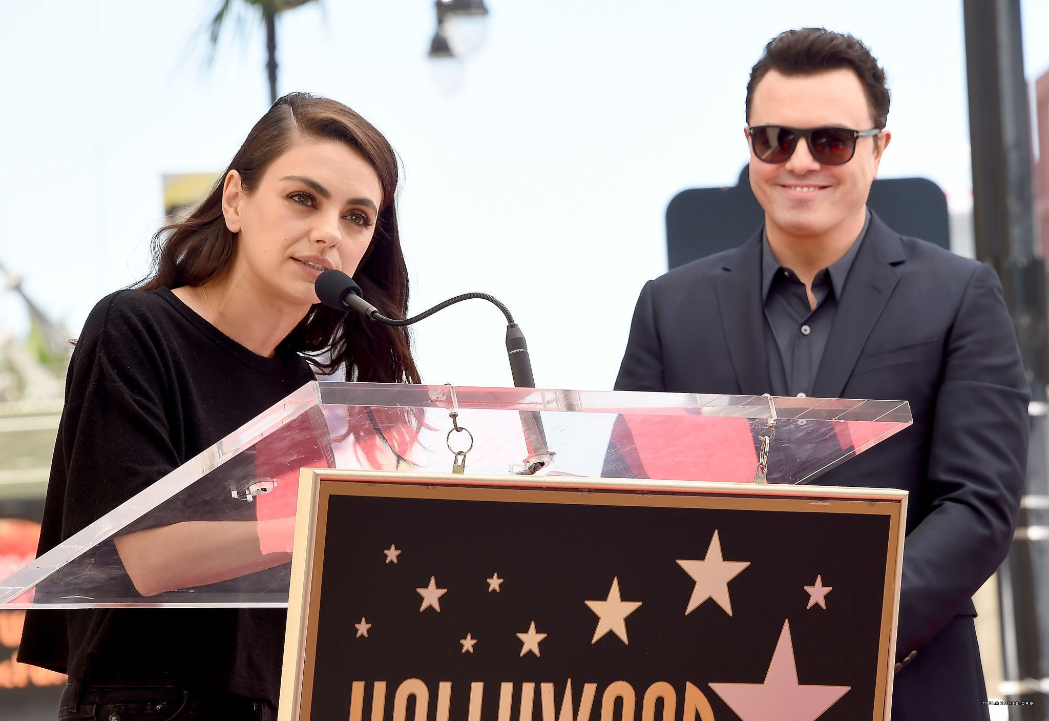 Photos: Seth MacFarlane Honored at the Hollywood Walk Of Fame
